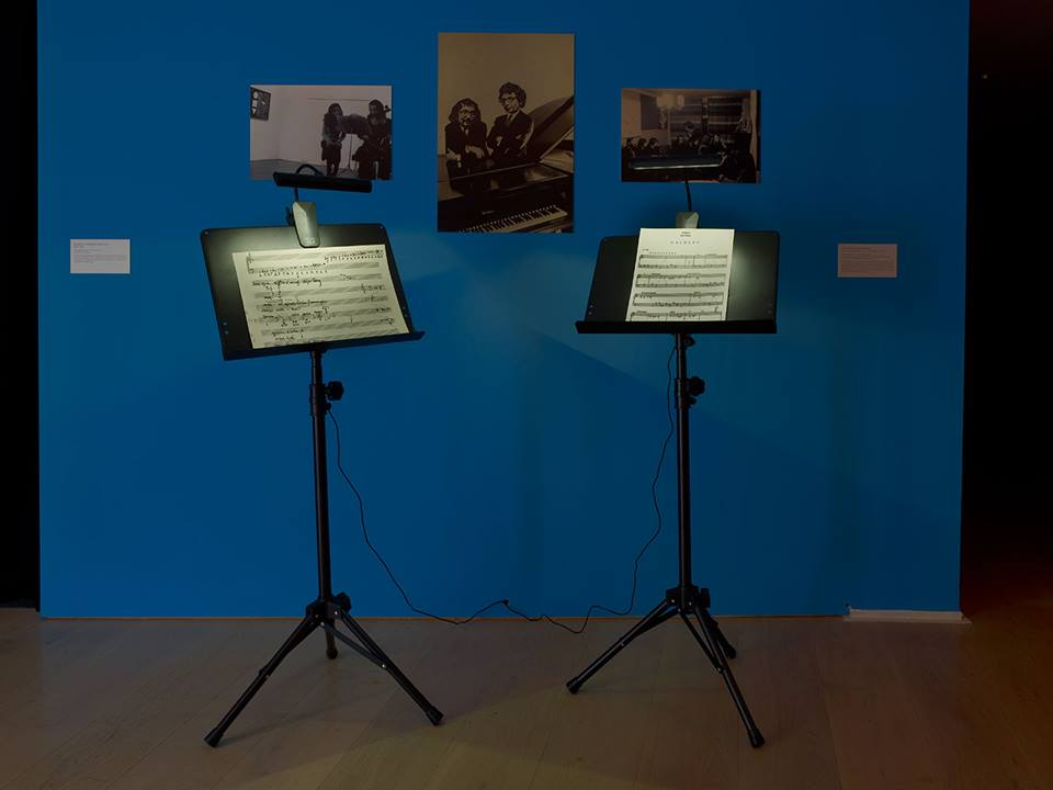 Sounding The Body Electric, Experiments in Art and Music in Eastern Europe 1957–1984, view of the display, installation shot by Stephen White, courtesy of Calvert22 Foundation