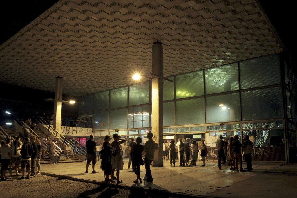 The train station in Mościce, private view, Tarnów 1000 Years of Modernity, 2011, photo Mateusz Sadowski, from the archive of BWA Tarnów
