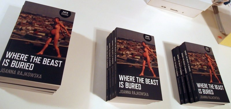 Where The Beast Is Buried is the first English-language book about Polish artist Joanna Rajkowska and her unique practice of work in public space, in extremely diverse cultures and geographies, Showroom, London, January 2014, photo Contemporary Lynx