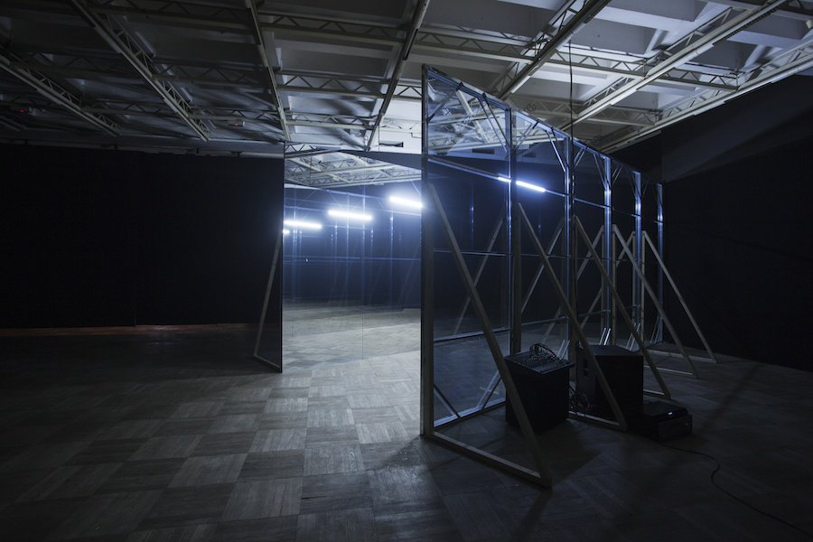 """""""Not a Movie At All"""" the exhibition view, Bunkier Sztuki Cracow, photos: StudioFILMLOVE"""