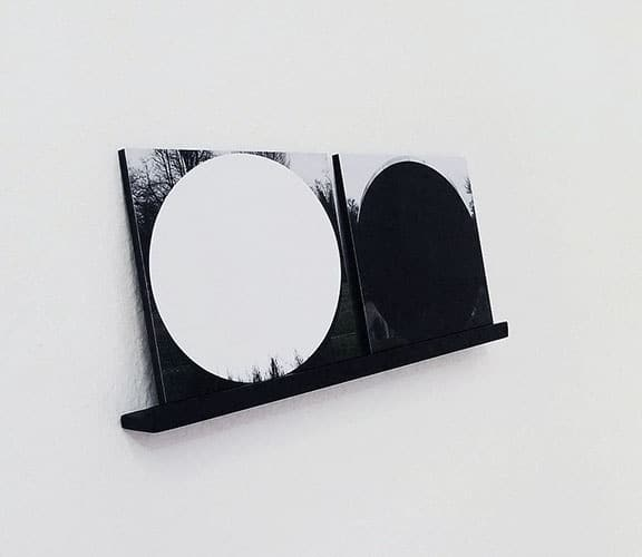 Agata Madejska, Here and There, 2011 Lightjet C-type print on forex, wood, 12,5×33 cm, courtesy the artist and Parrotta Contemporary Art