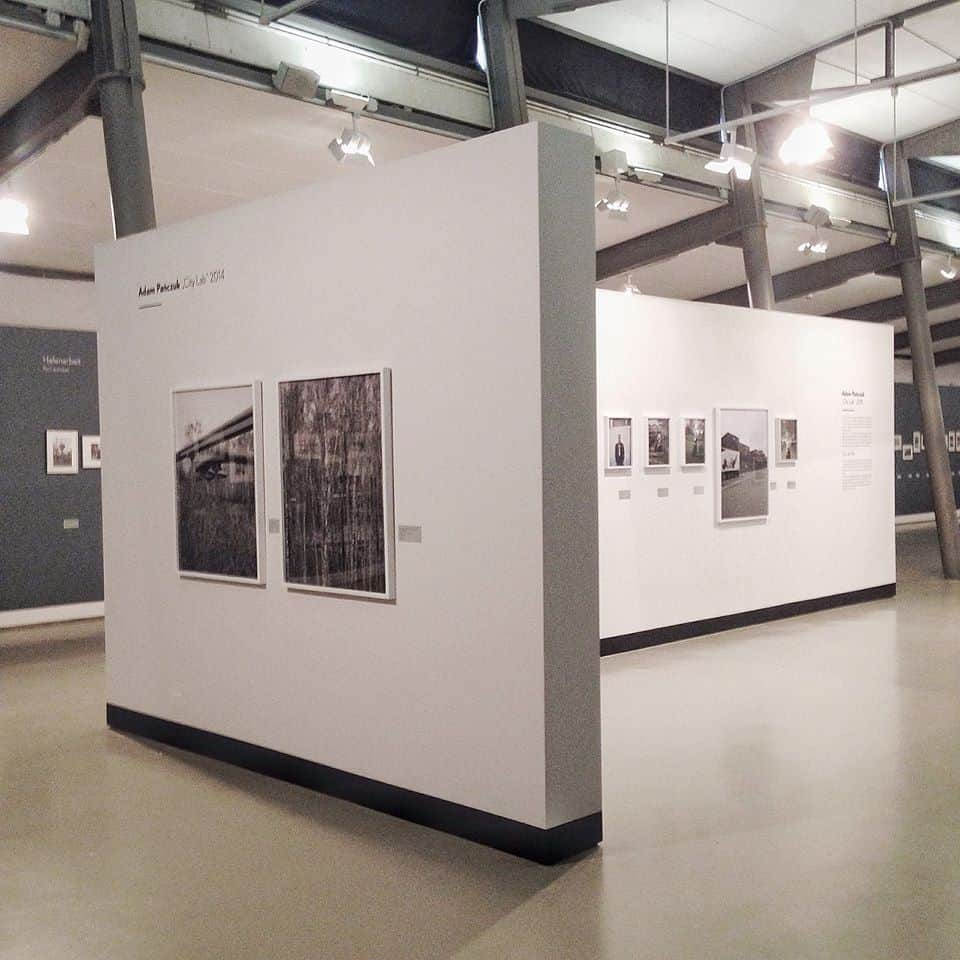Adam Pańczuk, City Lab (installation shots), part of the Fofftein: Living and Working in Hamburg – Photographs from Germin, Thomas Henning, and Adam Pańczuk at the Museum der Arbeit, Hamburg Triennial of Photography, Hamburg | copyright: Adam Pańczuk