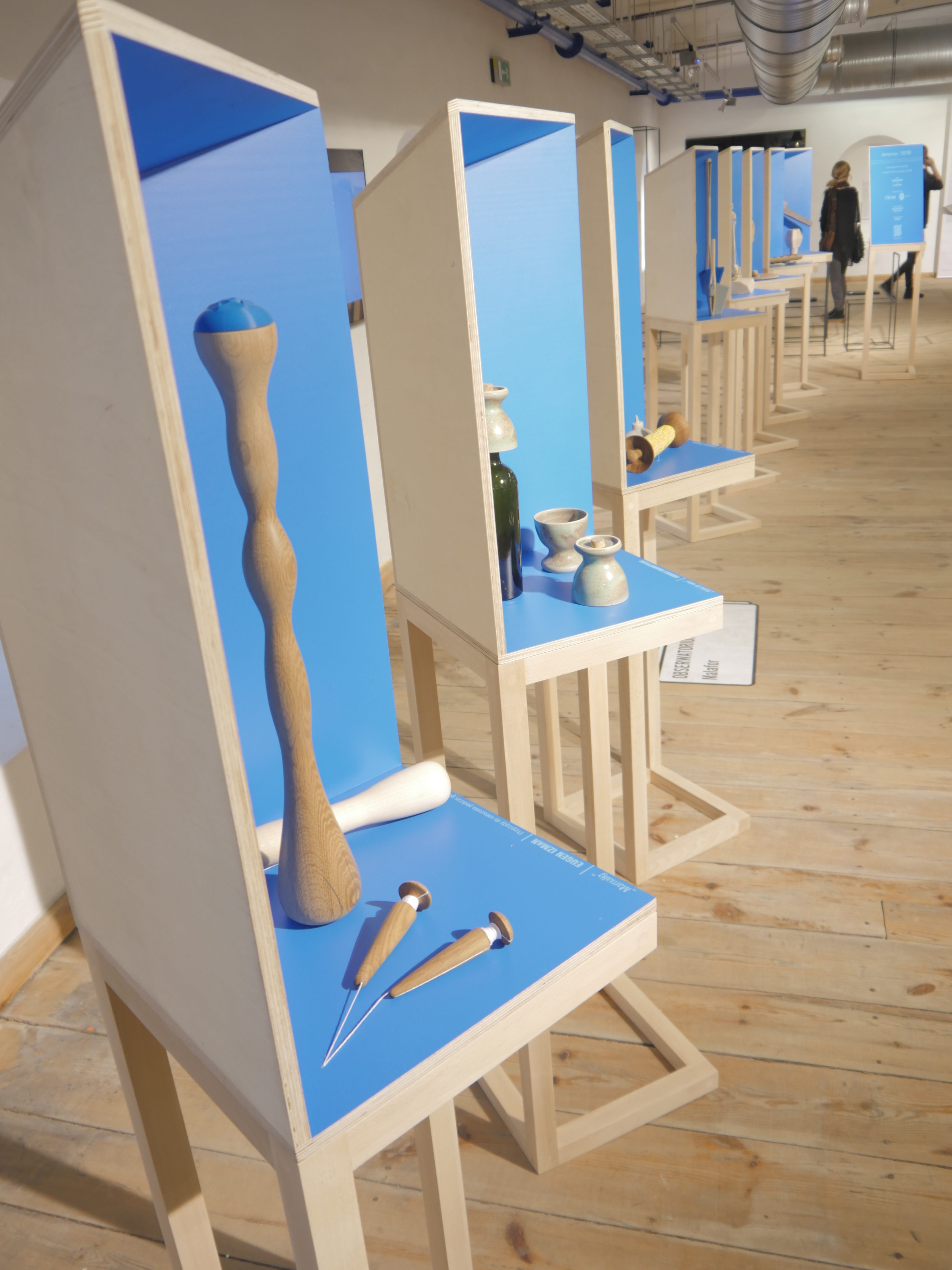 Observatory/Recipes (hand-made kitchen and tableware accessories; Malafor, photo Ania Diduch, Łódź Design Festival 2016