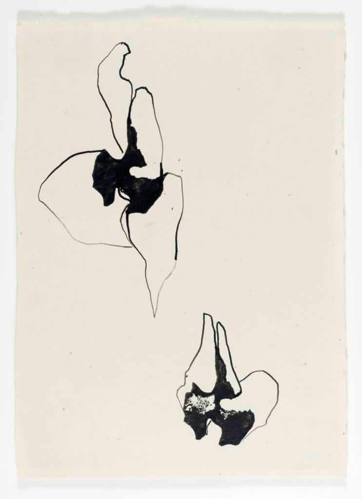 Untitled, c. 1959-60, ink on laid paper