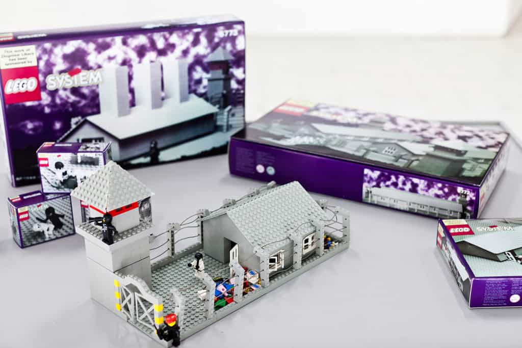 Lego. Concentration Camp, by Zbigniew Libera