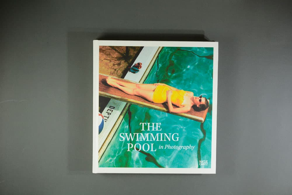 photobook on holiday the swimming pool