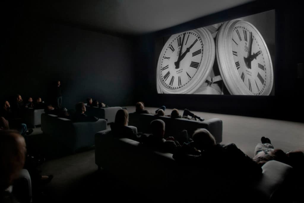Christian Marclay, The Clock, 2010, Single-channel video installation, duration 24 hours © the artists, Tate Photography (Matt Greenwood)