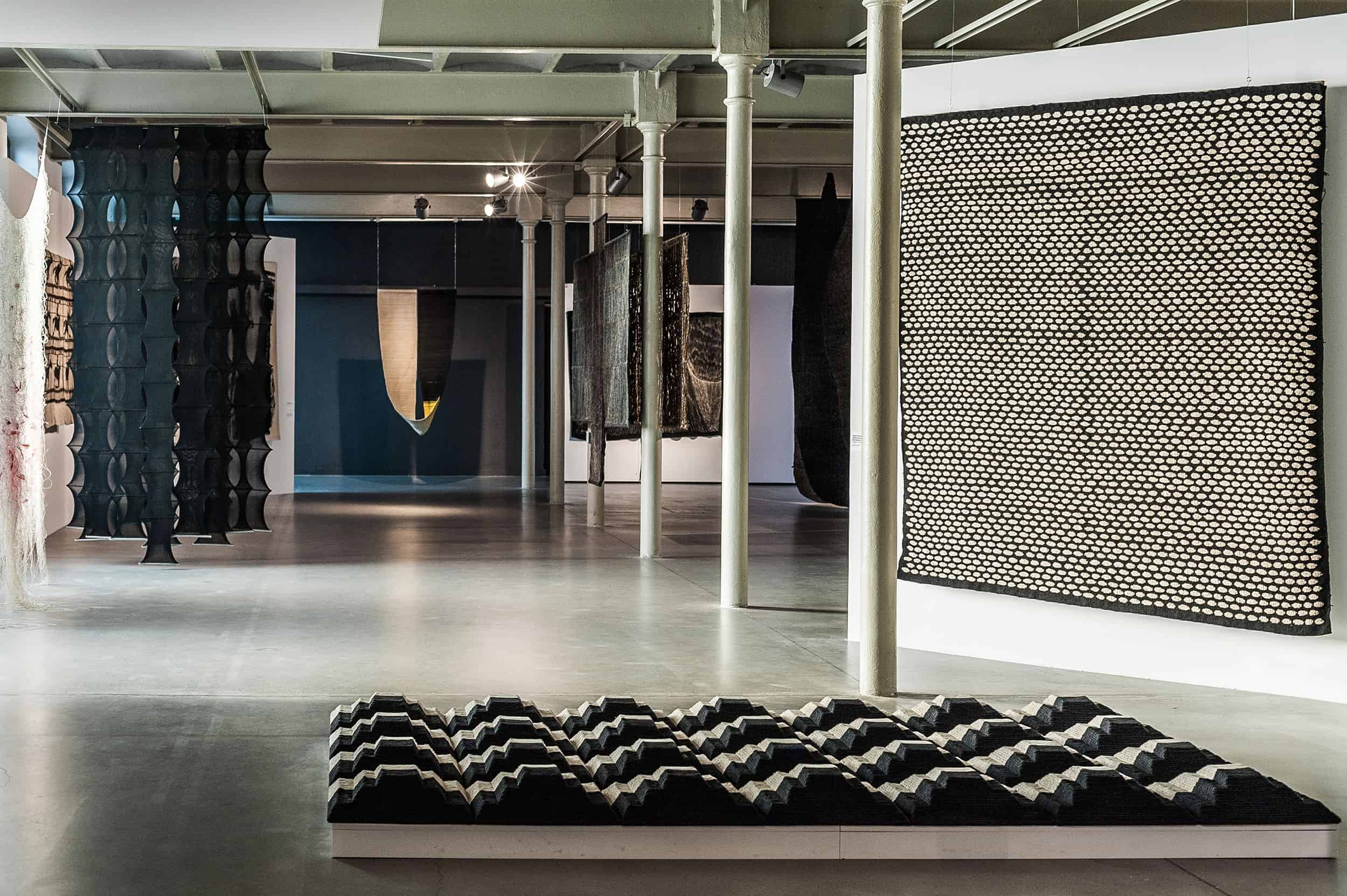 'Rebellion of the matter' exhibition, the Central Museum of Textiles in Łódź