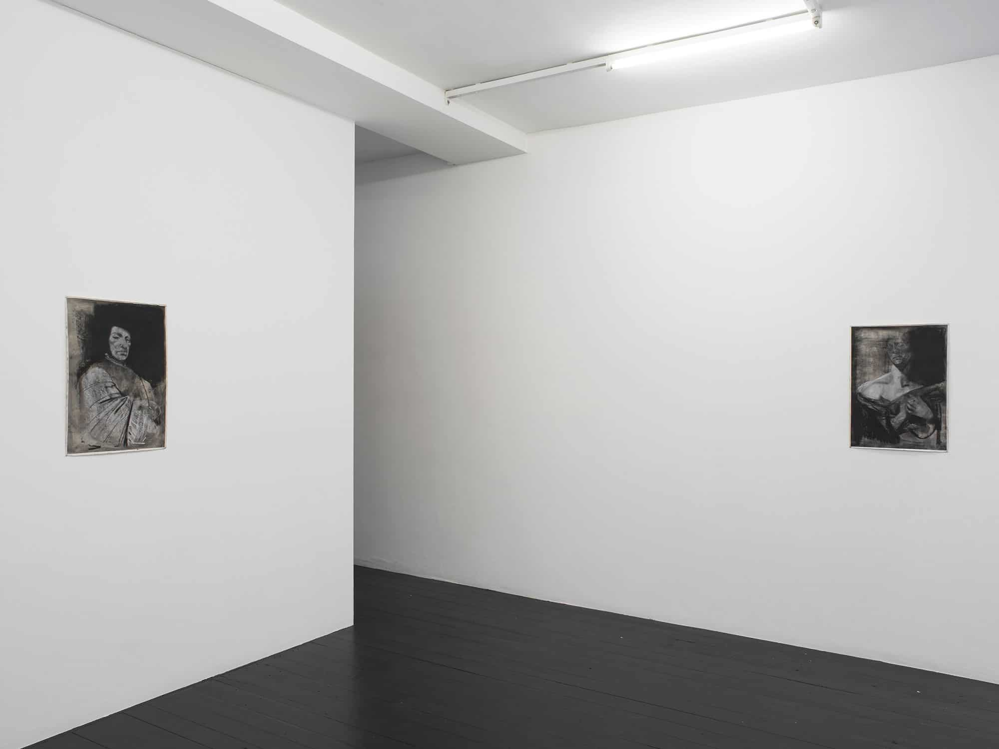 """Exhibition """"Welcome to the Country Where the Gypsy has been Hunted"""" by Krzysztof Gil, courtesy: l'etrangere, photo Andy Kaete"""