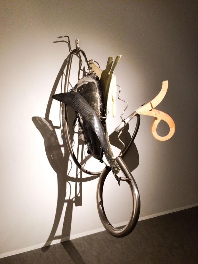 Frank Stella, 'Keroehan', 2006, stainless steel pipes, carbon and foam, 193x127x129,5.