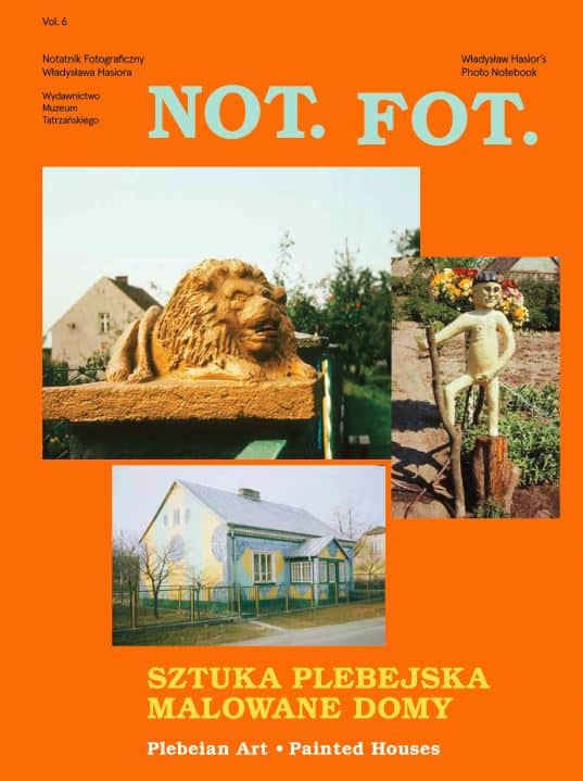 Cover of the 6th issue of the NOT.FOT. magazine