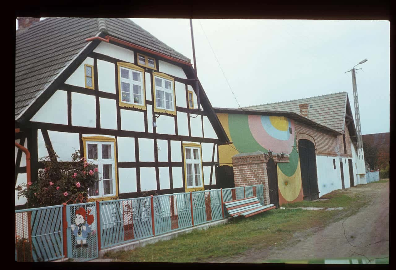 Slide from the Painted Houses cycle