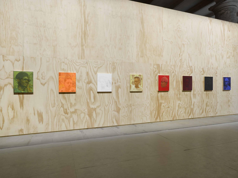 Njideka Akunyili Crosby, Various works, 2013-2019, Mixed media, 58th International Art Exhibition - La Biennale di Venezia, May You Live In Interesting Times, Courtesy the artist, Victoria Miro, and David Zwirner