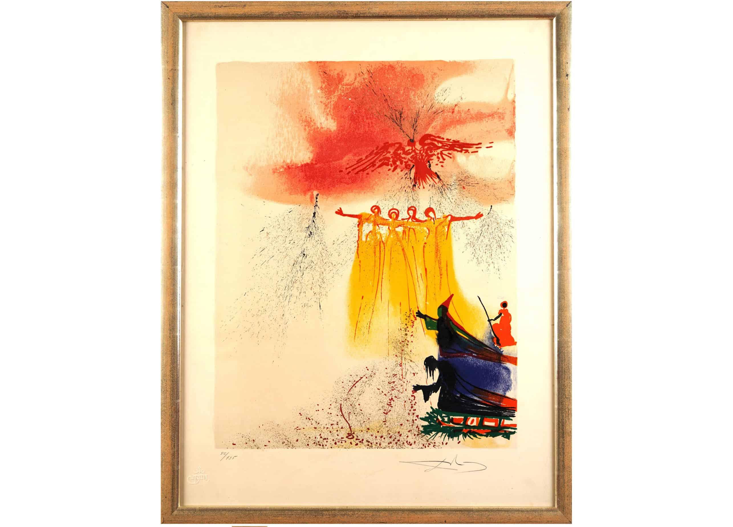 """Salvador Dali, """"Fairies"""""""