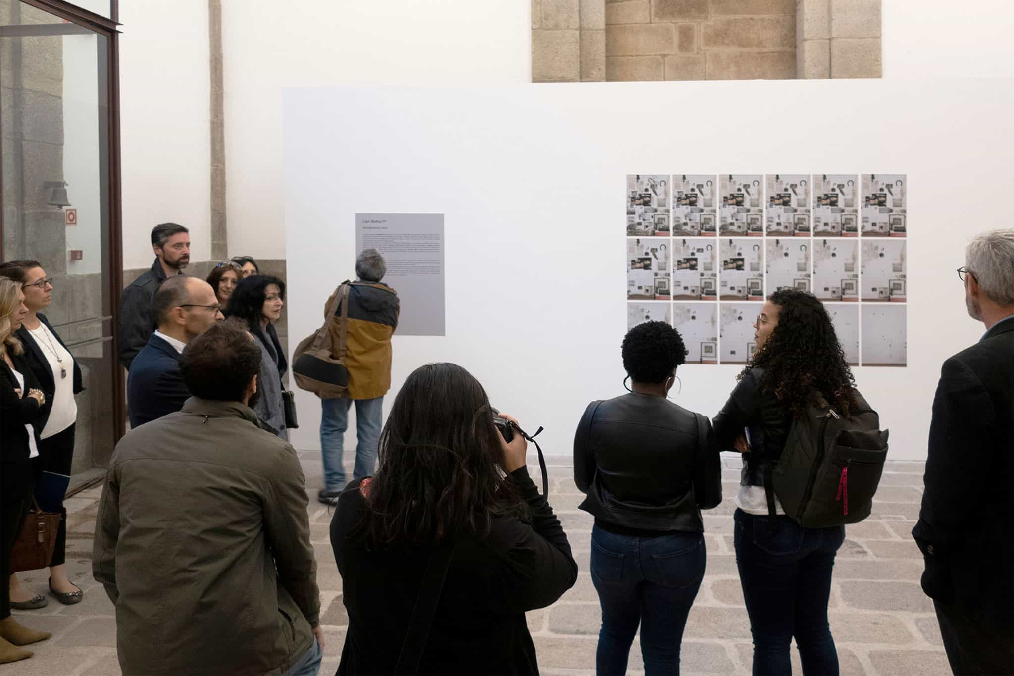 Opening of the exhibition Sixth Nature, with works of Lien Botha (ZA) and Edson Chagas (AO) at the Porto Photography Biennale