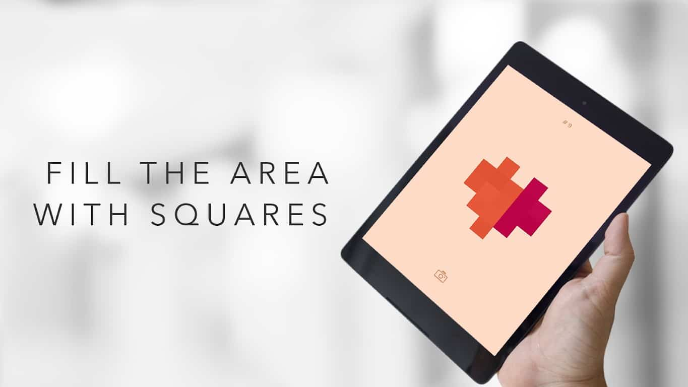 Square, paint mobile game by Bart Bonte