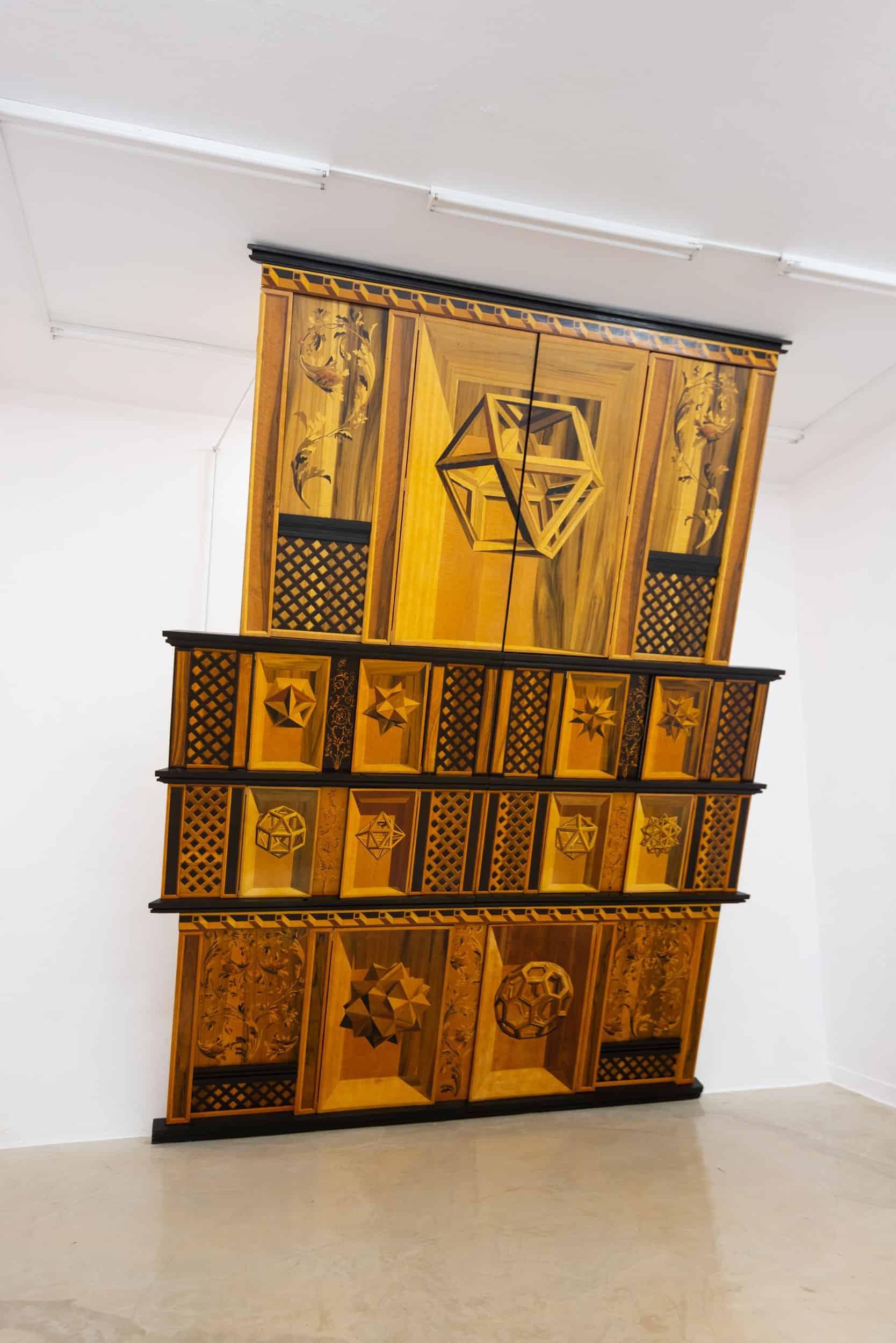 Wojciech Ireneusz Sobczak, Shrine, Affinities I exhibition, Leto Gallery, Warsaw, photo: B. Górka