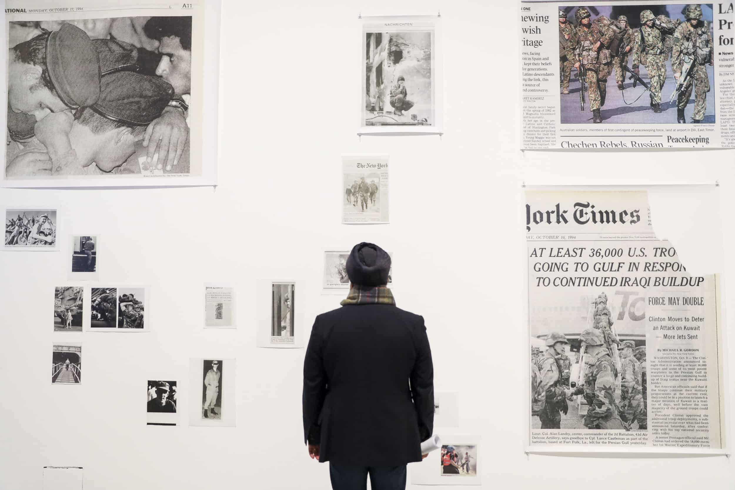 Masculinities Liberation through Photography, Installation View, ©Tristan Fewings,Getty Images