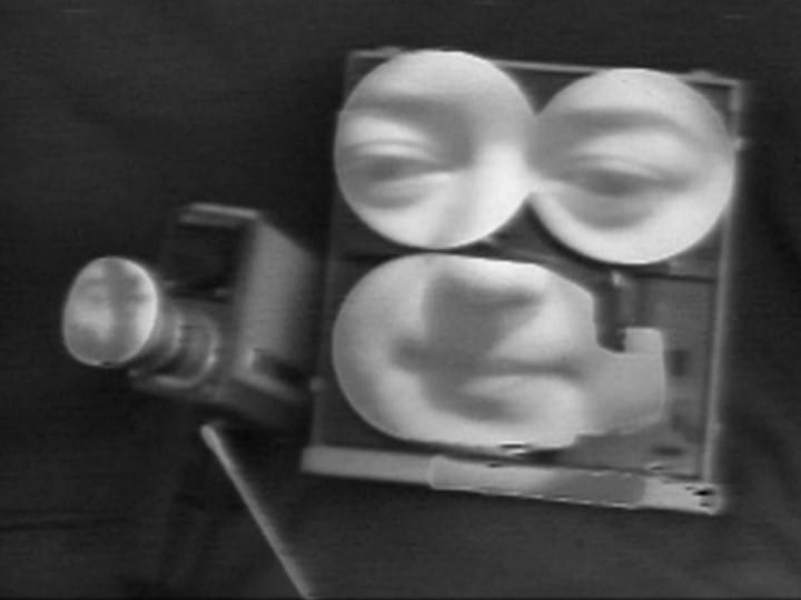 """Videofreex, Portapak Conversation, 1973, 8'30"""", courtesy of Video Data Bank at the School of the Art Institute of Chicago"""
