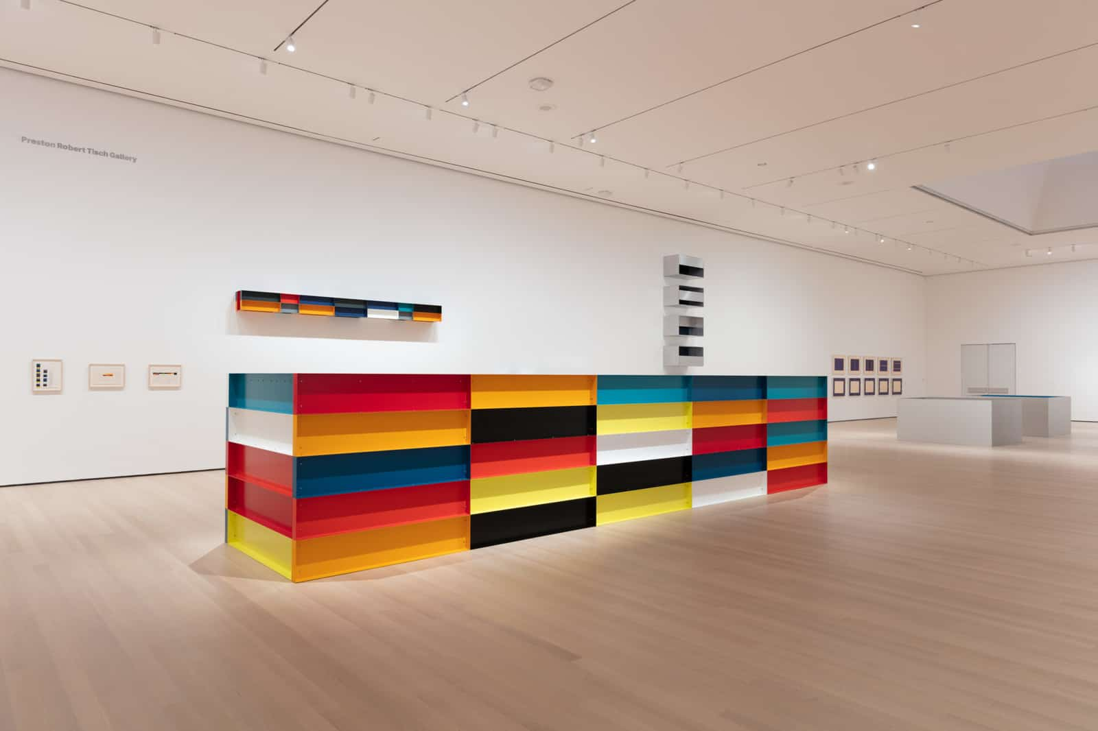 Installation view of Judd, The Museum of Modern Art, New York, March 1–July 11, 2020. Digital Image © 2020 The Museum of Modern Art, New York. Photo by Jonathan Muzikar