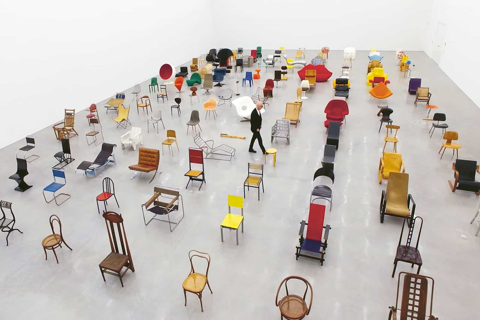 """""""Chair Times. A history of seating"""", dir. Heinz Bütler, Hook Films, Courtesy of vitra"""