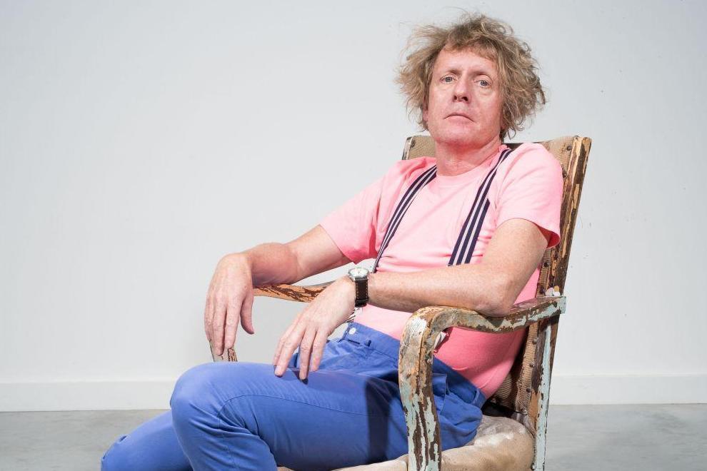 The art of writing, Grayson Perry at his studio in Islington Matt Writtle what to read contemporary lynx