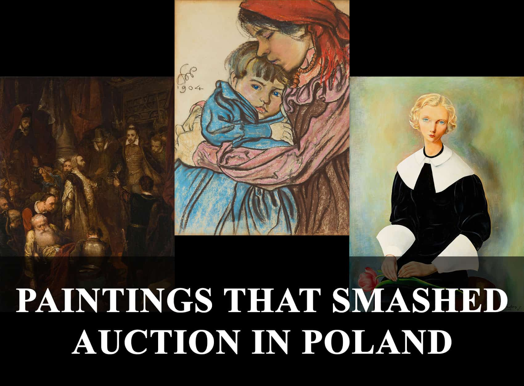 paintings that smashed auction in Poland