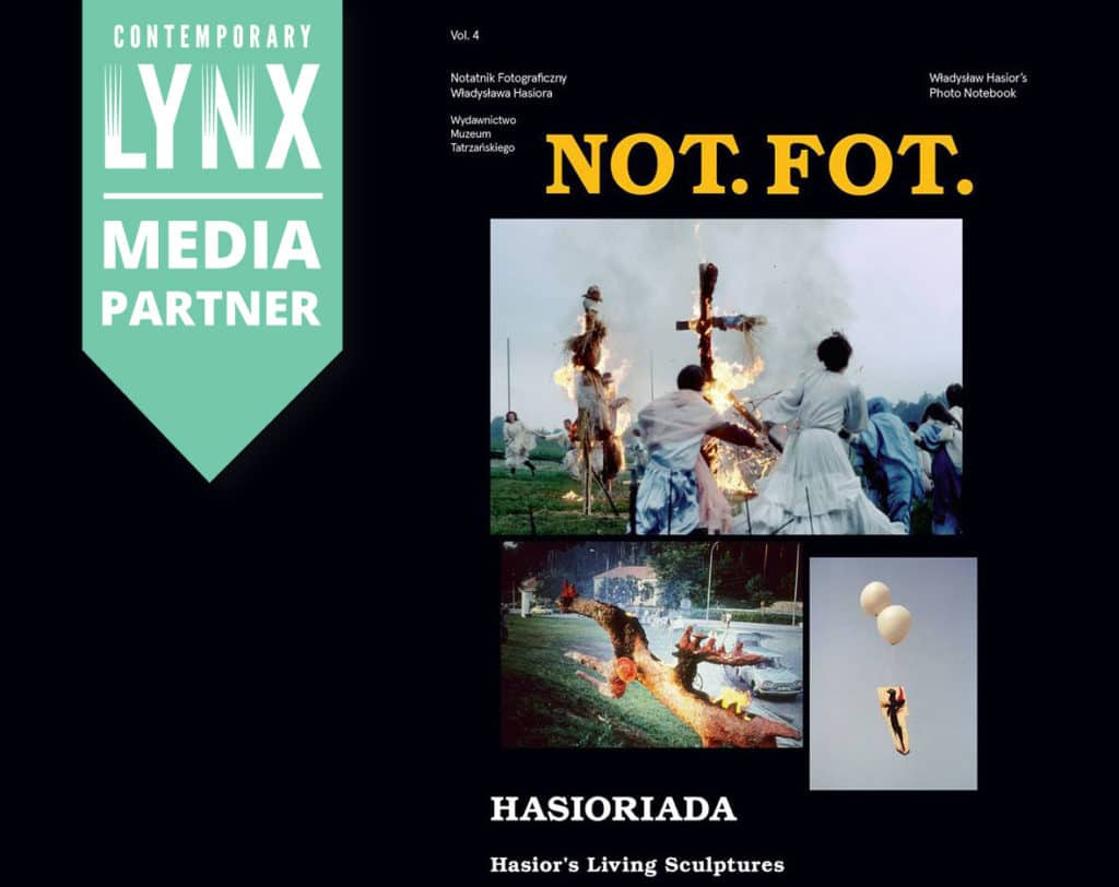 the UK Premiere of the fourth issue of Not.Fot. The Photo Notebook of Władysław Hasior