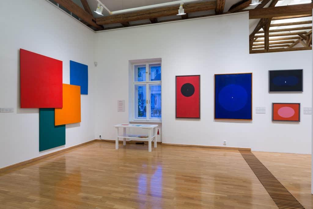 Abstrakce.PL, Muzeum moderního umění Olomouc, photo: Zdeněk Sodoma.