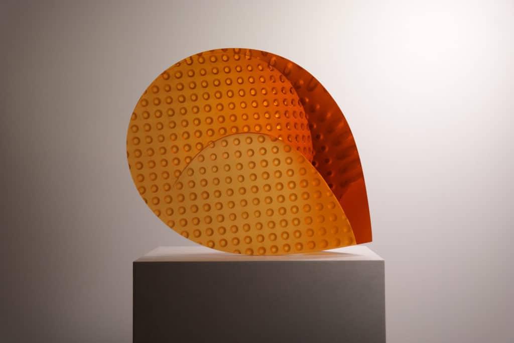 Vladimira Klumpar, Orange Wave, Autchor Archive, Galerie Kuzebauch.