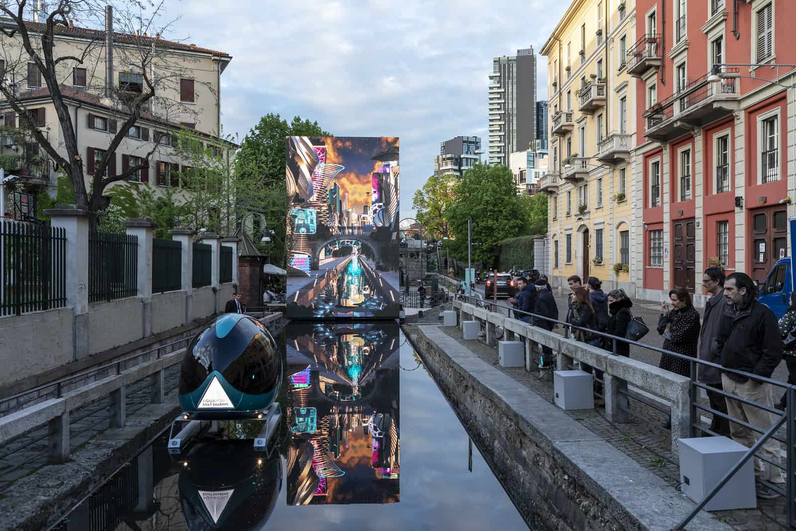 AQUA. La visione di Leonardo, Salone del Mobil;e 2019