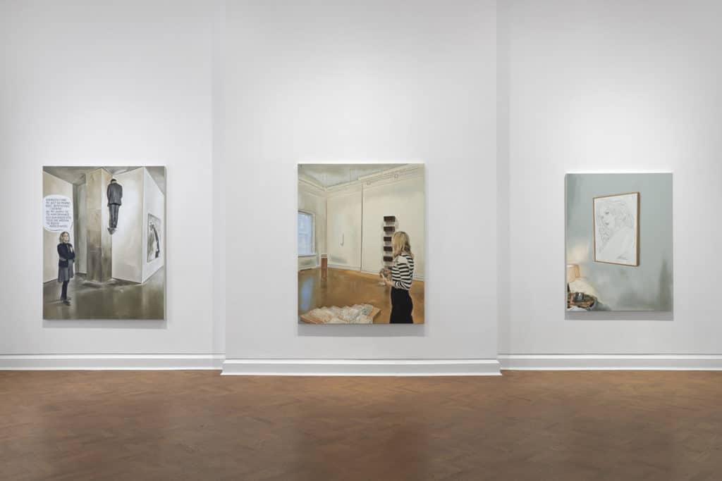 Marcin Maciejowski, exhibition, the Galerie Thaddaeus Ropac in London