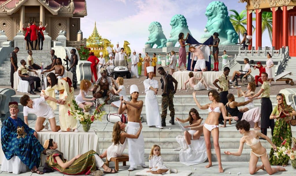 AES+F - The Feast of Trimalchio, Arrival of the Golden Boat, 2010
