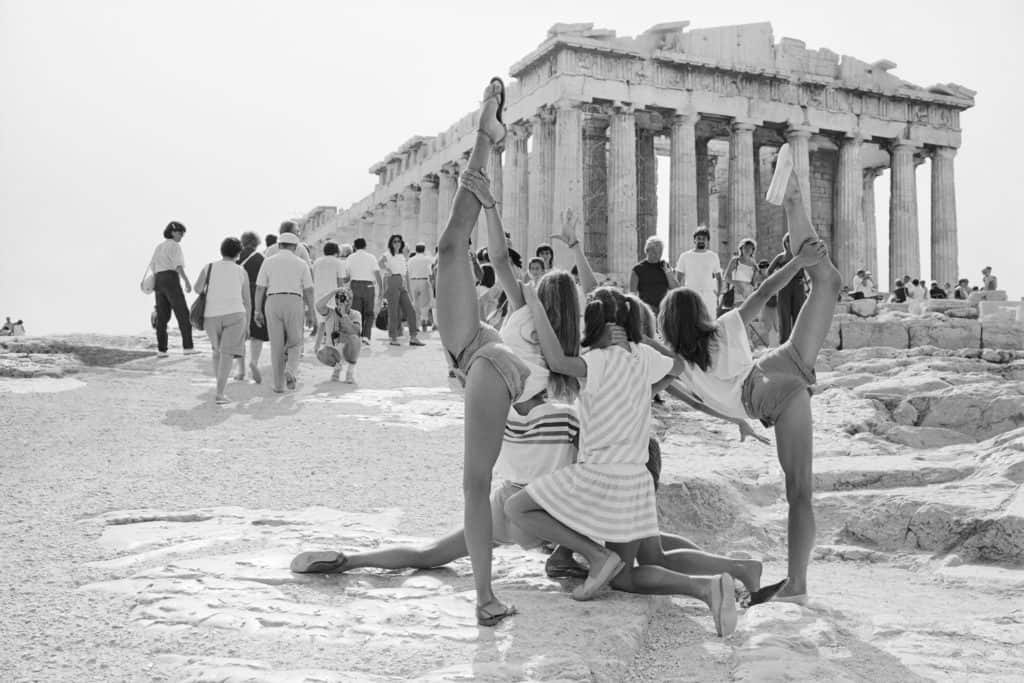 On the Acropolis © Tod Papageorge