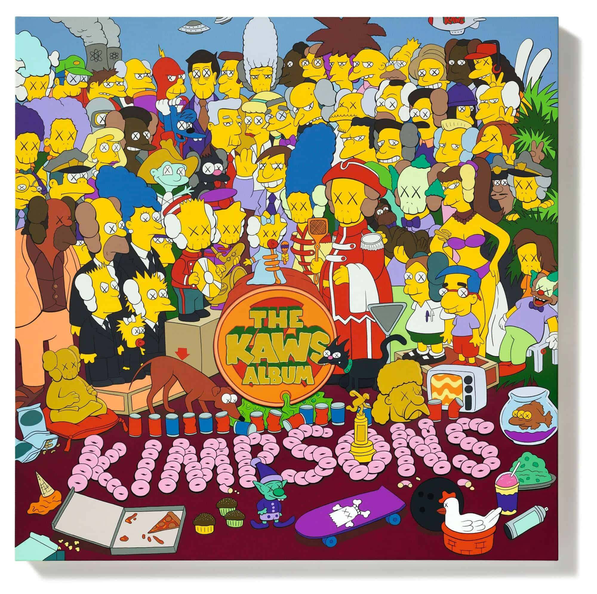 KAWS, THE KAWS ALBUM, which sold for $14.8 million at Sotheby's Hong Kong, setting a new record for the artist. Courtesy of Sotheby's.
