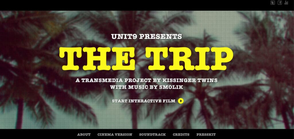 """""""The Trip"""" - a transmedia project by Kissinger Twins"""