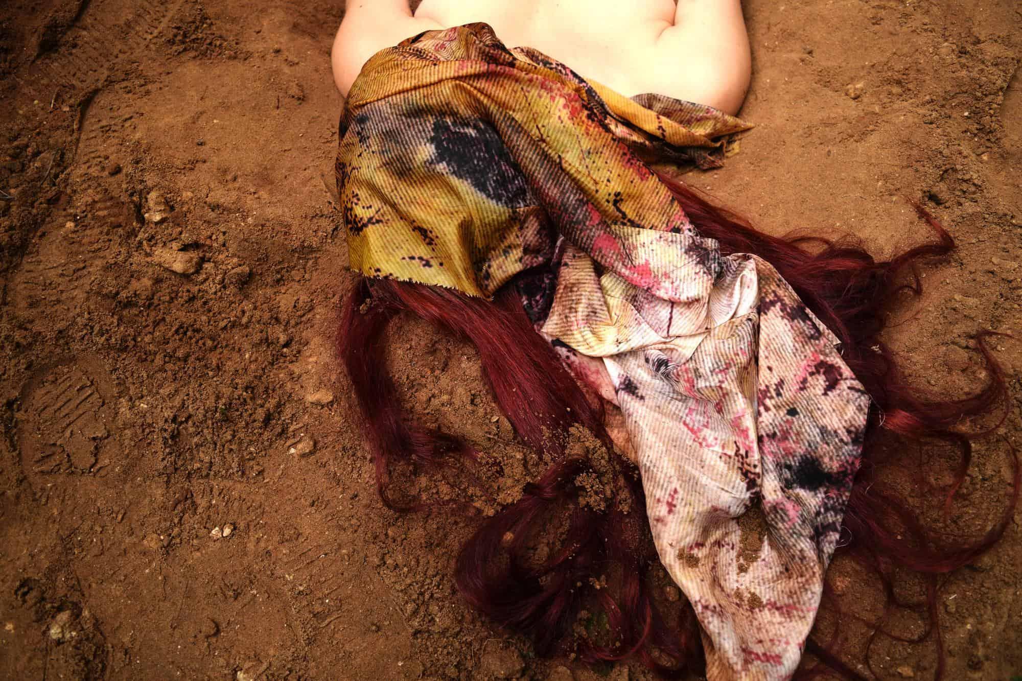 """Ruxandra Flavia Munteanu, """"Born of the earth"""""""