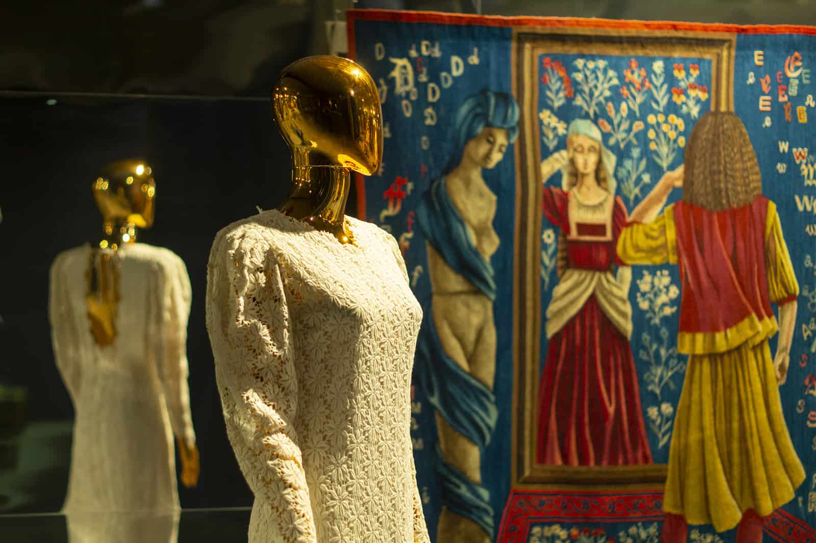 """""""Open Departments / Closed Departments"""" exhibition, the Central Museum of Textiles in Łódź"""