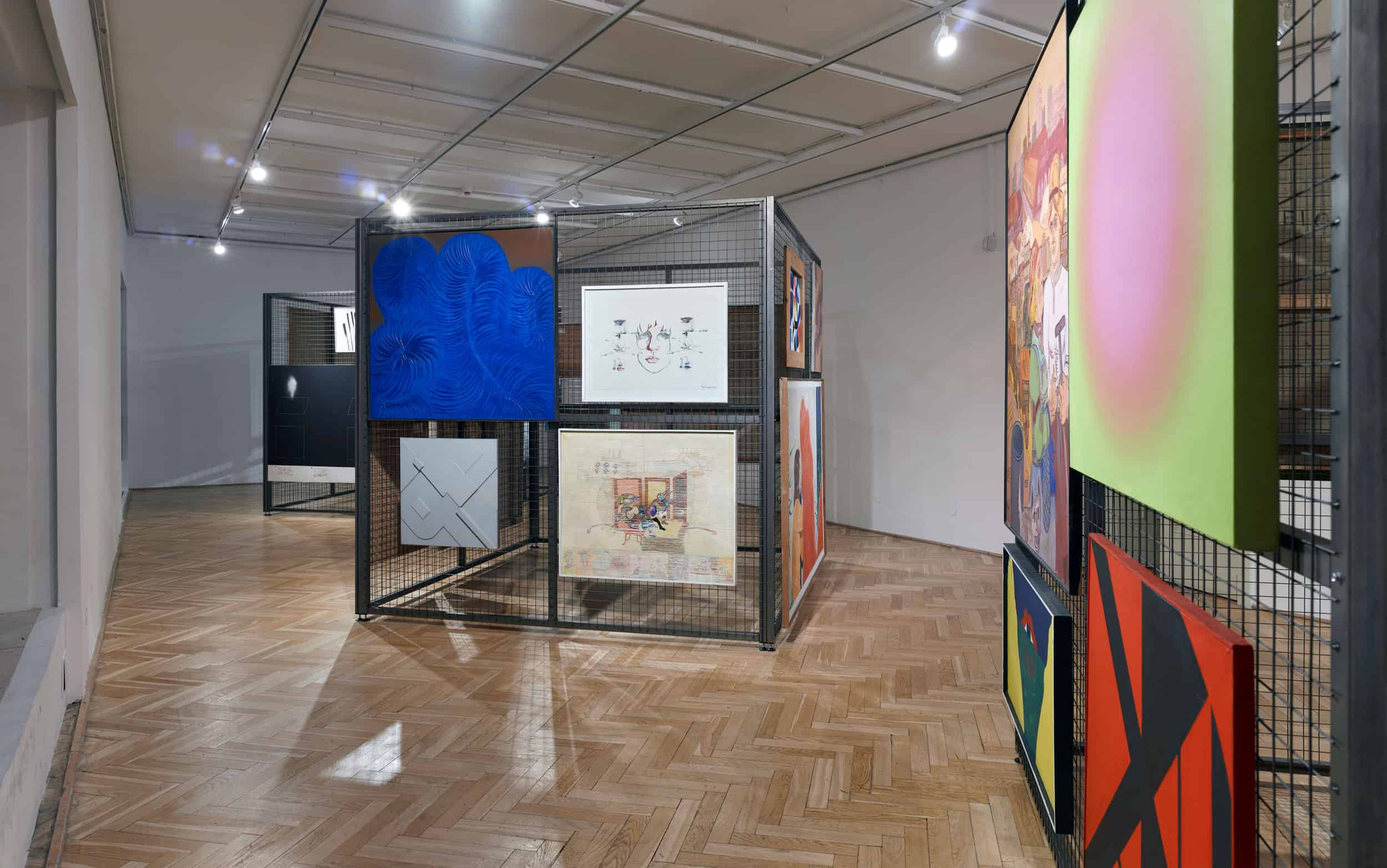 Exhibition view: THE GALERIA STUDIO COLLECTION IN WARSAW, photo: Błażej Pindor, courtesy Studio Gallery