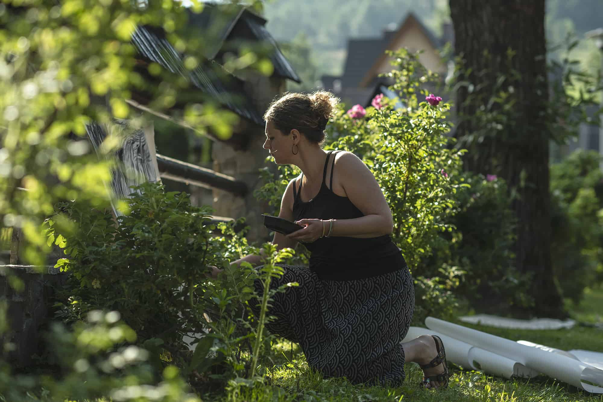Workshops at Podhale, Nature is My Homeland, photo by Edyta Dufaj, courtesy: Nature is My Homeland