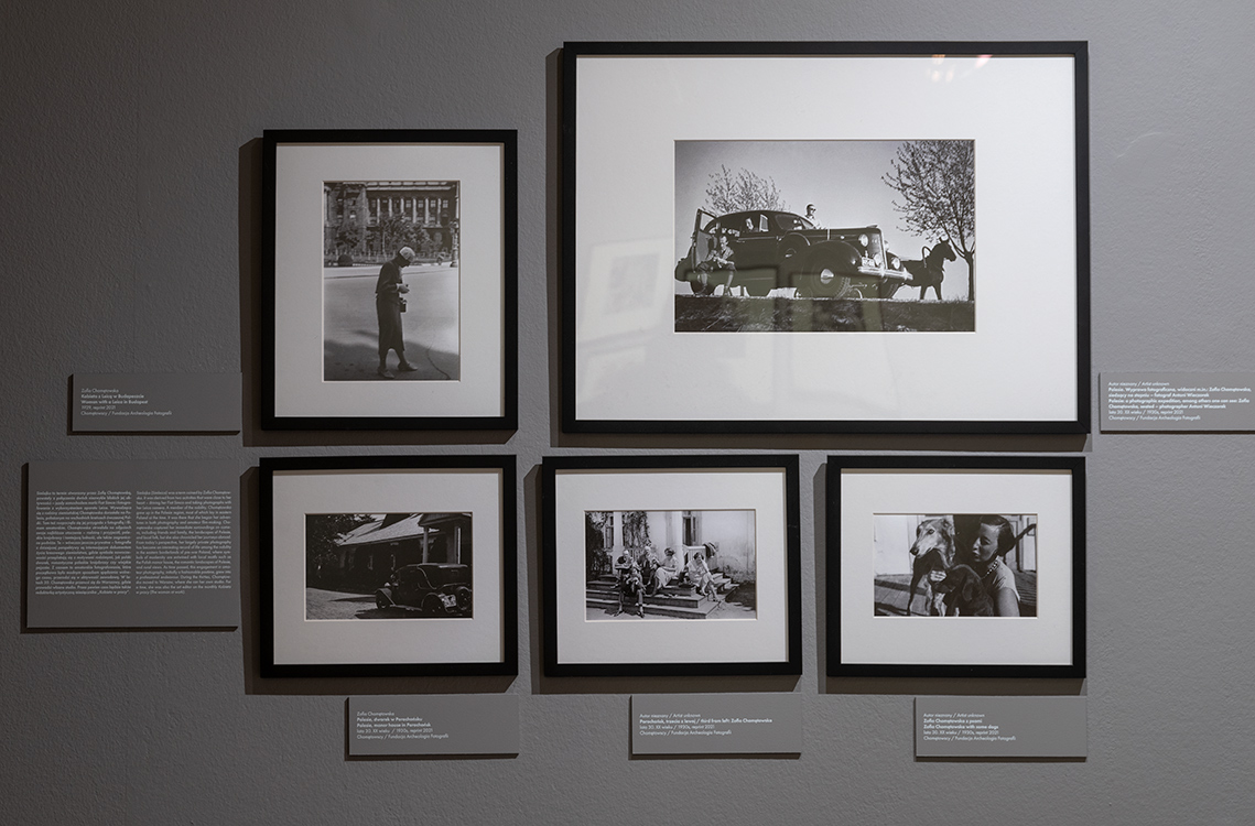 """""""More than Bauhaus. German photography between the wars and Polish parallels"""" exhibition, the International Cultural Centre, photo by Paweł Mazur"""